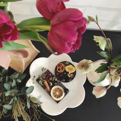 サシェ/ショコラサシェ/ワークショップ/リミアな暮らし/バレンタイン2020 サロンデュショコラのワークショップで作っ…