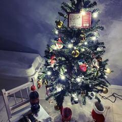 インテリア/子供部屋女の子/子供部屋/クリスマスツリー/クリスマス2019/住まい/... 長女は今年サンタさんに コーラとクッキー…