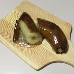 果物 🍌皮ごと冷凍して置いて、あくる日の昼頃に…