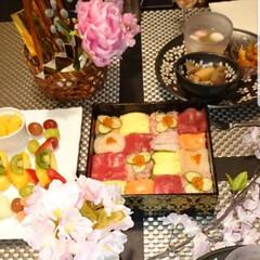 モザイク寿司/わたしのごはん/フード 雛祭りに「モザイク寿司」 見た目も綺麗で…