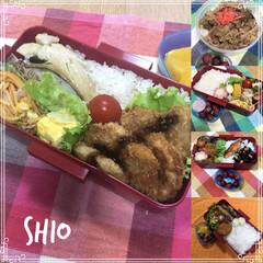 弁当/男子弁当/高校生男子/フード ★ ★★ 今週のお弁当🍱