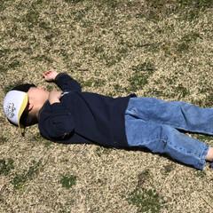 公園/お昼寝/子供/春のフォト投稿キャンペーン/ありがとう平成/GW/... 公園でお昼寝💤