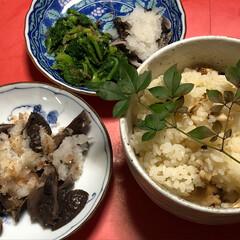 きのこ/クロカワ/食欲の秋/松茸/秋/グルメ/... 頂き物の松茸。 松茸ご飯炊いて、これまた…