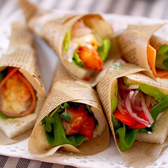 ハードパン/ふんわりパン/サンドイッチ ブーケサンド