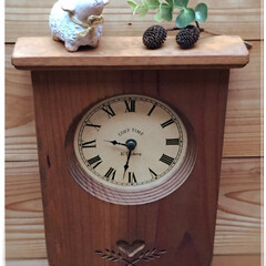 掛け時計/雑貨だいすき/時計/カントリー 掛け時計🕰  カントリーに目覚めた頃、 …