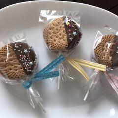バレンタイン/チョコレート/友チョコ/簡単/スイーツ/手作り 作り方を聞いてくださる方が多いので簡単に…