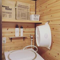 ロケット石鹸株式会社 アドグッド fabrush 衣料用液体洗剤 無香料 1kg(液体洗剤)を使ったクチコミ「ナチュラルで可愛い洗い桶がお気に入りです…」