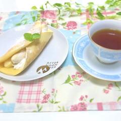 カスタードクリーム/手作りお菓子/今日のおやつ/おやつタイム/バナナのオムレット/バナナスイーツ/... まるごとバナナのオムレットを作りました♪…