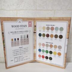 エクステリアカラー ホワイト  水性着色剤 ウッドアトリエ   和信ペイント(Washi Paint)(ニス、ステイン)を使ったクチコミ「和信ペイント様の塗料、木の質感と色を楽し…」(2枚目)