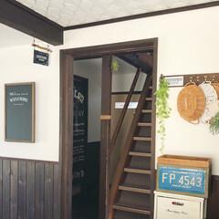 カフェ風インテリア/廊下インテリア/LIMIAインテリア部 こんにちは😊🎵 LDKのドアを開けると、…