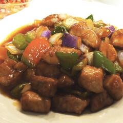 晩ごはん/酢豚/夏野菜/おうちごはん/簡単レシピ/LIMIAごはんクラブ/... 実家の家庭菜園で母が野菜を作っています。…(2枚目)