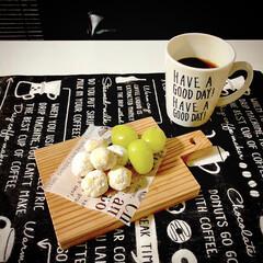 おうちカフェ/スノーボールクッキー/フード/スイーツ/雑貨/セリア/... スノーボールを焼きました❤️頂きもののマ…(1枚目)