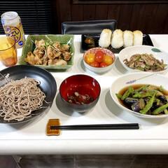 夏野菜メニュー/夏のメニュー/LIMIAごはんクラブ/おうちごはんクラブ 実家の畑で採れた野菜を使った晩ご飯です🍽…