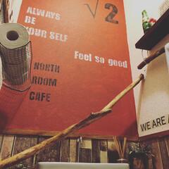 トイレの壁/ブログやってます/お金をかけないインテリア/ステンシル自作/フォロー大歓迎/LIMIAインテリア部/... トイレの壁を塗りましたー