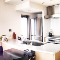 料理教室/レッスン/横浜/磯子/キッチン/レッスンスペース 我が家のキッチン。狭いですが生徒さんたち…