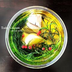 料理教室/レッスン/横浜/磯子 レッスンメニュー。自家製ツナ。見た目のか…