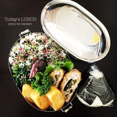 おべんとう ミルフィーユカツのお弁当。 来月の料理教…