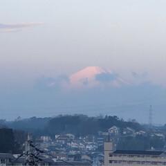 あ散歩/まりん/雲/富士山🗻/フォロー大歓迎 今日の富士山🗻は雲がかかってました。 だ…