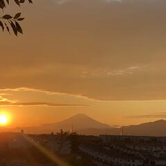 明日は幸せあるね😊/嬉しかった〜😊/久しぶり/夕方の富士山🗻/昼間の富士山🗻 今日昼間の富士山🗻😊て 夕方の富士山🗻😊…(3枚目)