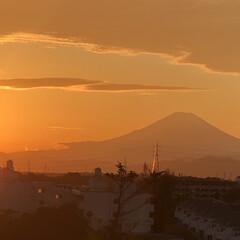 明日は幸せあるね😊/嬉しかった〜😊/久しぶり/夕方の富士山🗻/昼間の富士山🗻 今日昼間の富士山🗻😊て 夕方の富士山🗻😊…(4枚目)