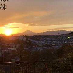 明日は幸せあるね😊/嬉しかった〜😊/久しぶり/夕方の富士山🗻/昼間の富士山🗻 今日昼間の富士山🗻😊て 夕方の富士山🗻😊…(5枚目)