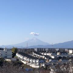 久しぶりに/富士山🗻/まりん 今日のお昼過ぎに富士山🗻が見れました😊 …