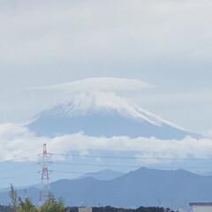 明日は幸せあるね😊/嬉しかった〜😊/久しぶり/夕方の富士山🗻/昼間の富士山🗻 今日昼間の富士山🗻😊て 夕方の富士山🗻😊…(2枚目)