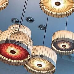 おでかけ/インテリア/照明 老舗の傘屋さんが作った照明 (京都のホテ…