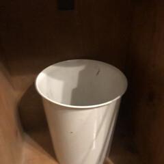 ゴミ箱 リビングのゴミ箱をむき出しにしたくなくて…(2枚目)