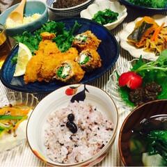 牡蠣/春/旬/フライ 菜の花とクリームチーズの牛肉巻きフライと…
