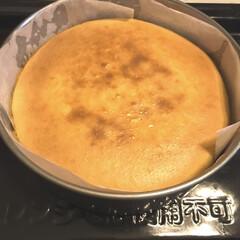 スイーツ ベイクドチーズケーキを焼きました。 久々…(1枚目)