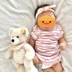 子ども服/赤ちゃん服/赤ちゃんファッション/赤ちゃんのいる生活/ベビーファッション/子ども/... 出産祝いにいただいたラルフローレンのワン…