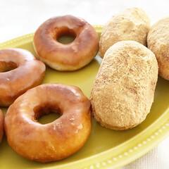 揚げパン/ドーナツ/お菓子作り/マタニティ/妊婦/おやつ作り/... 妊婦の暇つぶし。 ドーナツときなこの揚げ…