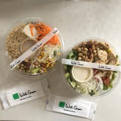 ダイエット/サラダ/ランチ/お弁当/おすすめアイテム/暮らし お昼はサラダ弁当! with green…