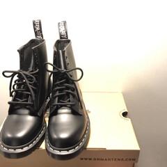 ドクターマーチン/LIMIAおでかけ部/フォロー大歓迎/ファッション/わたしのお気に入り 私のお気に入りの靴はドクターマーチンの靴…