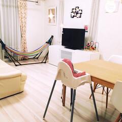 3COINS/ダイニング/リビング(居間)/子どもがいる部屋/写真/フライング タイガー コペンハーゲン/... 大好きな我が家 夜リセットです。