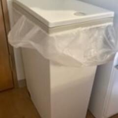 #スリムタイプ/ゴミ箱 薄いグレーの、大きめのものを使ってます。…