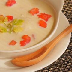 玉葱/帆立/スープ/料理人/料理研究家/グルメ/... 非公開レシピの料理です。  肌寒くな…