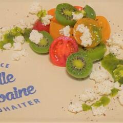 カプレーゼ/クックパッド/料理/グルメ/チーズ/トマト/... 🥝 ベビーキウイのカプレーゼ サラダ仕立…