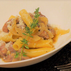 バジル/ごはん/肉/パスタ/ジェノヴェーゼ/玉葱/... 非公開レシピの料理  ナポリ風ジェノヴェ…