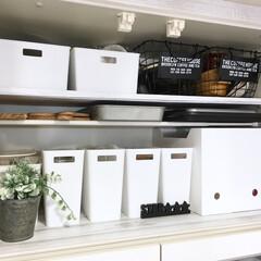 突っ張り棒/coucou/ももたくママ/キッチン/キッチン雑貨/100均/... 食器棚の上下収納はせりあ、ダイソー、ニト…