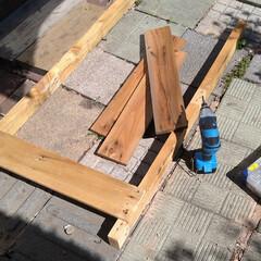 北海道/DIY女子/エアコン室外機カバーDIY/DIY/ハンドメイド 今日も気まぐれにDIY🛠️ エアコン室外…(8枚目)