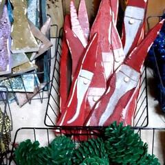 雑貨/猫さん大好き/クリスマスオーナメント/ワークショップ/ハンドメイド/DIY/... こんばんはでーす🤗 本日もワークショップ…