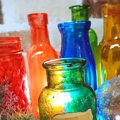 ターナー色彩 ガラスペイント 40ml 氷砂糖 GP040010透明感 水性 ステンドグラス | ターナー(ペンキ、塗料)を使ったクチコミ「今夜はガラスペイント🖌️してました🤗」
