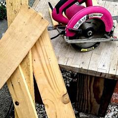 お家時間/木を大切に/時計DIY/シーグラス/ハンドメイド/手作り/... こちらは、以前廃材でDIYしました、時計…(7枚目)