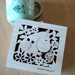 箱のリメーク/敬老の日のプレゼント/ムーミン 一足早い敬老の日  私の好きなムーミン …