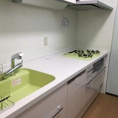 キッチン選び/ひろびろキッチン/キチン悩み/キッチン床/キッチン空間 マンションにお住まいお奥様からキッチンの…