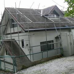 屋根リフォーム/屋根工事/屋根カバー工法/屋根塗装/屋根/埼玉屋根工事/... コロニアル、スレート屋根の美観が続くリフ…