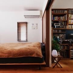 寝室/書斎/仕切り/間仕切り/壁面収納/造作棚/... (1枚目)