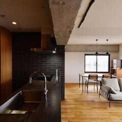 キッチン/ダイニング/ダイニングテーブル/ソファ/リビング/眺望/...